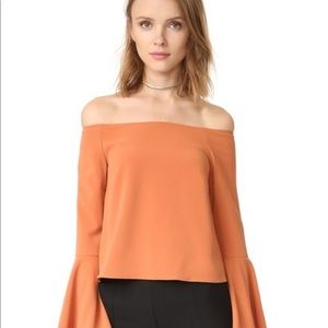 KEEPSAKE the Label Tops - Keepsake Harmony Terracotta Top A11